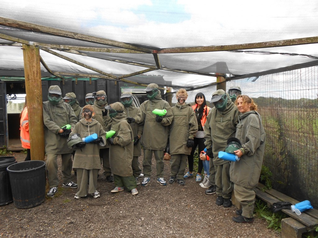 Paintballing 1